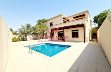 Five Bedroom, 8 Bathroom, Villa For Sale in Golf Gardens, Abu Dhabi - Impressive Stand Alone/ Great Investment w/ Pool