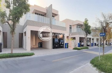 Three Bedroom, Four Bathroom, Villa For Sale in Cedre Villas, Dubai Silicon Oasis (DSO), Dubai - Modern   Townhouse End   Large Plot   Well Maintained