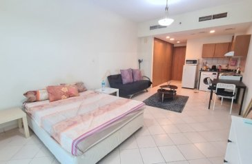 Studio, One Bathroom, Apartment For Sale in Lago Vista A, Dubai Production City - IMPZ, Dubai - Fully furnished   12 cheques   With parking