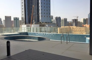 Three Bedroom, Five Bathroom, Apartment To Rent in Saraya, Corniche Abu Dhabi, Abu Dhabi - City View 3BR with Terrace Available in Saraya One