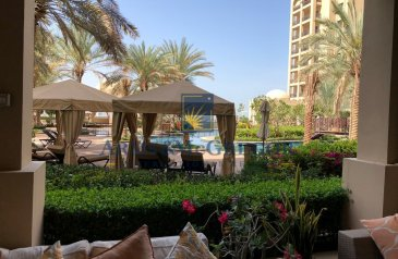 Two Bedroom, Apartment To Rent in Fairmont Residence, The Palm Jumeirah, Dubai - 2beds plus Maid's Room   Beach access