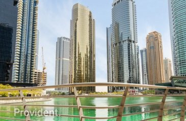 887 Sq Ft, Office For Sale in Lake Al Mas West, Jumeirah Lakes Towers - JLT, Dubai - Exclusively Managed   Chiller Free   Lake View