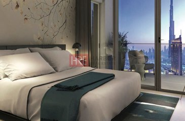One Bedroom, One Bathroom, Apartment For Sale in Downtown Views, Downtown Dubai, Dubai - Handover 2022   Off-Plan   1-Bed   Community View