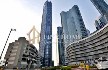 1,730 Sq Ft, Office For Sale in City of Lights, Abu Dhabi - High Floor   Fitted Office   Canal View.