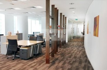 14,265 Sq Ft, Office To Rent in The Bay Gate, Business Bay, Dubai - Full Floor | A Grade Tower |Sea View Next to DIFC