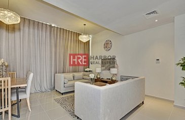 Two Bedroom, Two Bathroom, Townhouse For Sale in Pacifica, Akoya Oxygen, Dubailand, Dubai - Fully Furnished   Private Garage   Kids Play Area