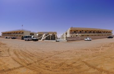 Ready to Move in Labour Camp To Rent in Neima, Al Ain - Labour Camp with 130 Rooms for Rent in the truck road