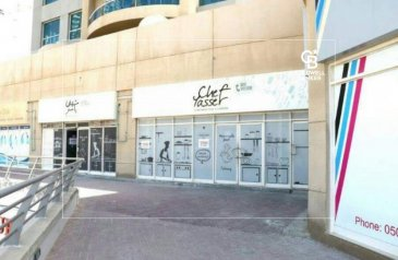 Existing 1,527 Sq Ft, Retail Space For Sale in Lake Point Tower, Jumeirah Lakes Towers - JLT, Dubai - Large retail unit- LOW service- negotiable-G floor