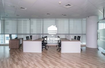 1,337 Sq Ft, Office To Rent in Smart Heights, Barsha Heights (TECOM), Dubai - Huge Fitted Office Rent 56 000 | Multiple Payment
