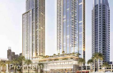 Two Bedroom, Two Bathroom, Apartment For Sale in Forte Towers, Downtown Dubai, Dubai - Burj Khalifa View | High Floor | Upgraded