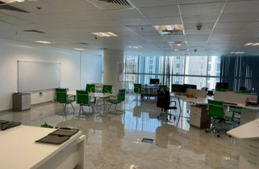 1,375 Sq Ft, Office For Sale in Smart Heights, Barsha Heights (TECOM), Dubai - Investor Deal Furnished Fitted Office Close Metro