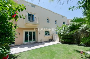Four Bedroom, Four Bathroom, Townhouse To Rent in Estella - Victory Heights, Dubai Sports City (DSC), Dubai - Type TH1 | 4 Bedroom | Across Pool and Gym