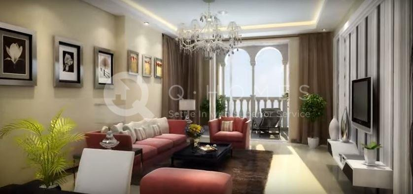 No Commission Brand New 2 Bedrooms Apartment In Viva Bahriya 3762 Ap2780