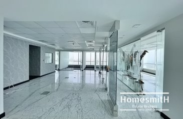 2,970 Sq Ft, Office To Rent in Concord Tower, Meydan, Dubai - Full Sea View | High Floor | Semi Fitted | Vacant