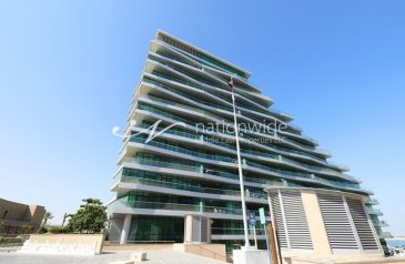 Two Bedroom, Three Bathroom, Apartment For Sale in Al Naseem A, Al Raha Beach, Abu Dhabi - Invest Now In This Luxurious Unit w/ Balcony