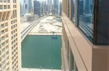 613 Sq Ft, Office For Sale in Churchill Towers, Business Bay, Dubai - Fitted and Ready to Occupy Office   Lake View