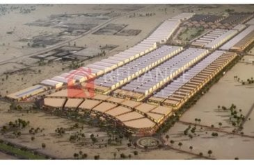 Commercial Plot For Sale in Industrial Area, Sharjah - Commercial Land For Sale in Al Saja'a Industrial