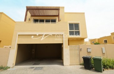 Three Bedroom, Four Bathroom, Townhouse For Sale in Muzera Community, Al Raha Gardens, Abu Dhabi - Invest Or Own This Charming & Cozy Townhouse