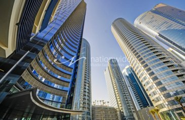 1,527 Sq Ft, Office For Sale in Addax Park Tower, Al Reem Island, Abu Dhabi - Vacant! Shell & Core Office In Desirable Location