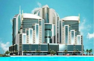 One Bedroom, Two Bathroom, Apartment To Rent in Al Bustan, Ajman - 1 Bedroom For Rent In Orient Tower.. 19,000 for 4 or 6 Payment with Parking