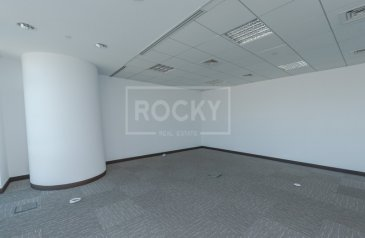 1,079 Sq Ft, Office To Rent in U Bora Tower, Business Bay, Dubai - No Commission | Office | Burj Khalifa View | 2 Parking | Business Bay