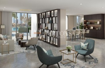 One Bedroom, Two Bathroom, Apartment For Sale in Burj Royale, Downtown Dubai, Dubai - 1 Bedroom Apt    Resale    Old Town View