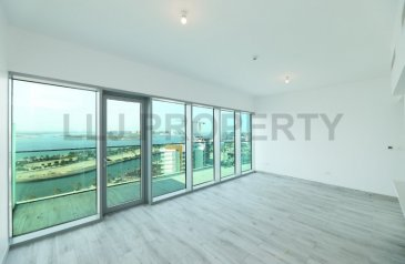 Two Bedroom, Four Bathroom, Apartment To Rent in Al Seef, Abu Dhabi - Beautiful Brand New Two Bedroom Apartment in Raha Beach