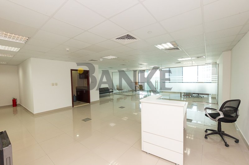Bright, Fitted And Glass Partitioned Office, Mid Floor
