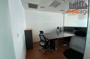 865 Sq Ft, Office To Rent in Churchill Executive, Business Bay, Dubai - OFFICE AVAILABLE IN DECEMBER FULLY FURNISHED