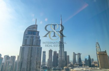 One Bedroom, Two Bathroom, Apartment For Sale in The Address Residence Fountain Views 2, Downtown Dubai, Dubai - With 360 Video Tour   Furnished, Burj Khalifa View