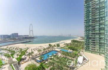 Two Bedroom, Three Bathroom, Apartment For Sale in The Address Jumeirah Resort and Spa, Jumeirah Beach Residence - JBR, Dubai - Spectacular Sea View   Luxury   Brand New