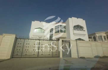 Five Bedroom, Six Bathroom, Commercial Villa To Rent in Khalifa City A, Abu Dhabi - Commercial Standalone Villa On Main Road