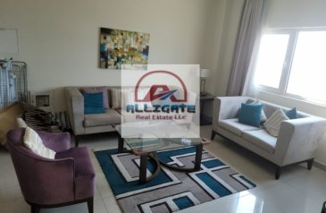 One Bedroom, One Bathroom, Apartment To Rent in Suburbia, Downtown Jebel Ali, Dubai - MH- 35K IN 4 CHEQS , BIG FURNISHED 1 BED FOR RENT IN JEBEL ALI, DOWNTOWN , SUBURBIA BY DAMAC , 5 MIN WALK FROM METRO