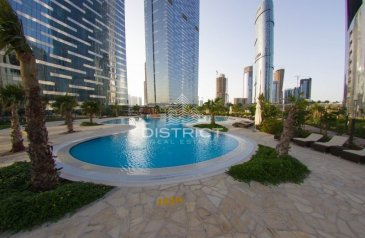 Three Bedroom, Four Bathroom, Townhouse To Rent in The Gate Tower 3, Al Reem Island, Abu Dhabi - Breathtaking Sea View I Modern Designed I Vacant