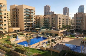 One Bedroom, Two Bathroom, Apartment To Rent in Al Ghozlan 2, The Greens, Dubai - Just Listed| Pool View|Immaculate Condition|Vacant