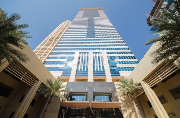 865 Sq Ft, Office For Sale in Churchill Executive, Business Bay, Dubai - Income Generating   Fitted Office   High Floor