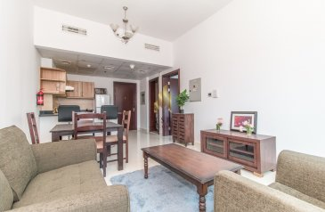 One Bedroom, Two Bathroom, Apartment To Rent in Elite Sports Residence 7, Dubai Sports City (DSC), Dubai - Furnished Apartment | Spacious | Sport city